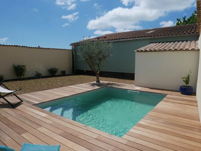 Photo for Spacious townhouse on the outskirts of La Rochelle