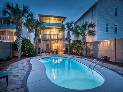 Photo for AQUASCAPE: Like New! Just Renovated Modern Coastal, Priv. Pool, Views, 5* Rated