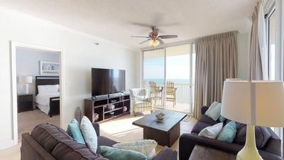 Amazing Gulf Front View-Spacious Corner Condo-Clubhouse Amenities Included! Doral 1510