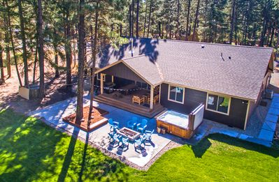 Photo for Fantastic Outdoor Living!  Private Hot Tub and Summer Pool!