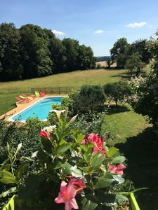 Photo for Le Plessis-Le Lierre - Loire Valley-Amboise, 18th Century Farmhouse, Pool