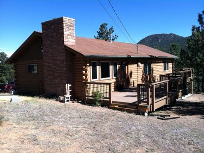Photo for Log Home with Guest Room/Studio - Sleeps 10 Guests
