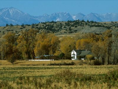 Historic Home on 800 Acre Ranch on Banks of Yellowstone River