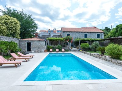 Photo for Property with a swimming pool, rare find within walking distance to Old Town