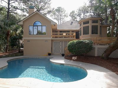 Photo for 4 Bedroom / 4 Bath home in Palmetto Dunes, with a private pool and just 5 mins t