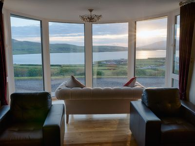 Spectacular views Of Dingle Bay And Town From A Luxurious Home.
