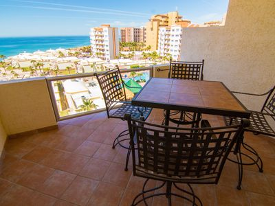 Photo for Spectacular 1 Bedroom Condo on Sandy Beach at Las Palmas Resort  D-603B