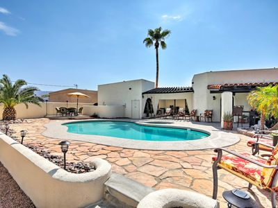 Photo for Lake Havasu City Cottage w/Pool, Spa & Lake Views!