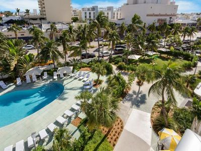 Photo for Ultimate Beach Getaway! Four Modern Units for 16, Pool, Walk to Attractions