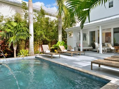 Photo for ~ GRAND MAISON ~ Immaculate Home On Duval St w/ Heated Pool & Pvt Parking!