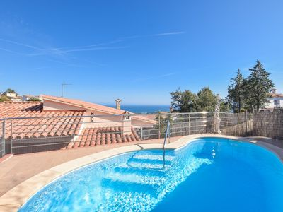 Photo for Club Villamar - Beautiful and modern villa with private pool, sea views and located at  minutes d...