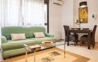 Photo for Quiet newly built downtown apartment fully equipped
