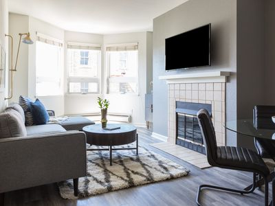 Photo for Posh 1BR in Lower Pacific Heights by Sonder