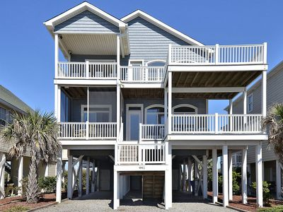 Photo for Beautiful 5 BR Home w/Pool / Elevator Across from Ocean