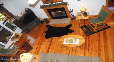 Photo for March Discounts!! Cozy Cabin perfect for small family, Hot Tub