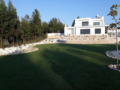 Photo for Modern villa with swimming pool and large beautiful garden at 5 minutes from the sea