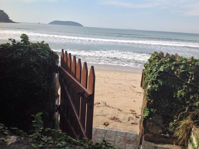 Photo for House standing on the sand - Beach Sape - Ubatuba - Up to 12 people