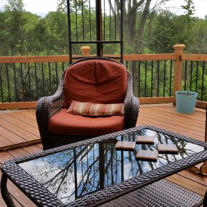Photo for Forest Escape 3 BR Chalet near Starved Rock State Park Ottawa, Oglesby, Utica.