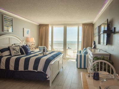 Photo for Unit 413 - Picture Perfect 4th Floor Beachfront Stateroom. Elegant Accommodations. Incredible View.
