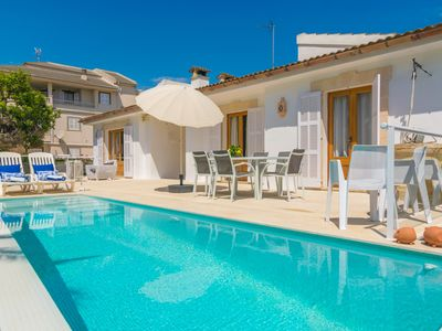 Photo for ANIMA - Villa with private pool in Can Picafort.