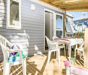 Photo for Camping La Forêt du Pilat *** - Mobil-home Cozy Style air conditioned 4 rooms 6 persons
