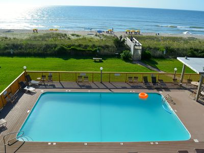 Photo for Oceanfront Serenity with Stunning Pool & Balcony