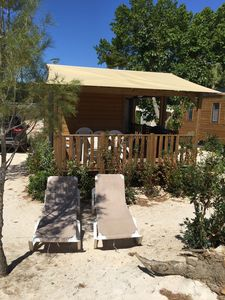 Photo for Mobile home rental 4 people in a campsite by the sea