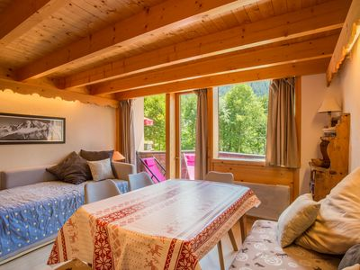 Photo for Argentiere charming Duplex, south to the slopes