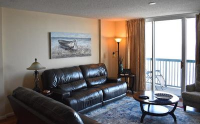 Photo for Affordable Ashworth luxury Oceanfront condo in NMB, 8/31-9/7, 9-21-9-28, open!!