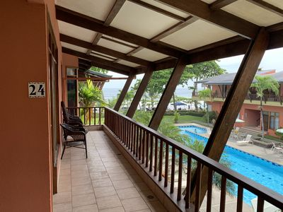 Photo for Beachfront  Condo South Jaco Beach Best Value