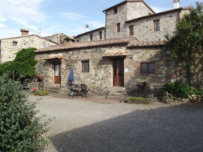 Photo for independent house in an ancient Tuscan village