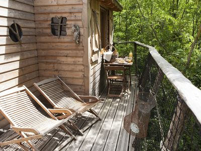 Photo for Fisherman Tree house - France Loire Valley - suitable for Family / with confort
