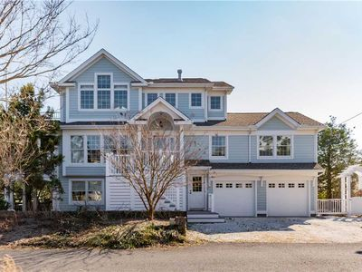 Photo for Bay views from this home on Lewes Beach!