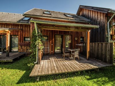 Photo for Wooden chalet on 4 star holiday park