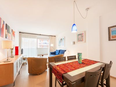 Photo for Apartment 1.5 km from the center of Calonge with Parking, Washing machine, Air conditioning, Pool (105333)