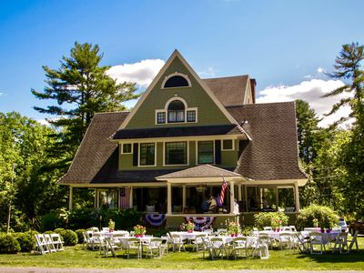 Photo for Historic Showcase Mansion! Sleep 24 in heart of Manchester Village, VT