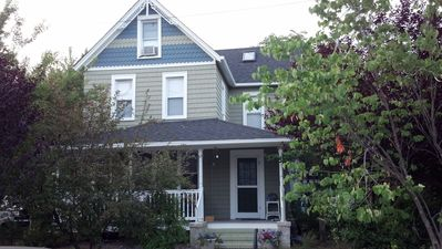 Photo for Charming Historic 5 BR Spacious, Clean 3 blocks to Beach, Short Walk to Town