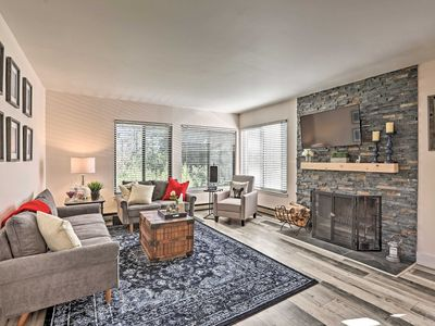 Slopeside Tahoe Donner Condo - Walk to Lifts!