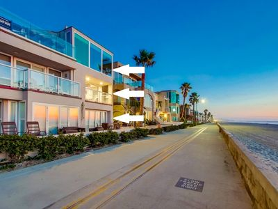 Photo for WOW! 3 Levels of Ocean Front ★ 3 Units ★ 3 Patio's