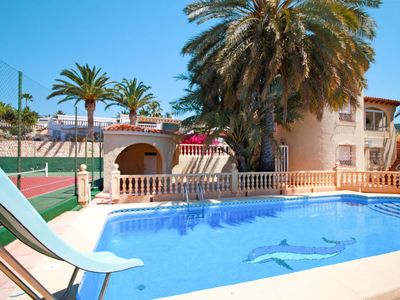 Photo for Vacation home Casa Tenis Janka (CLP265) in Calpe/Calp - 9 persons, 3 bedrooms