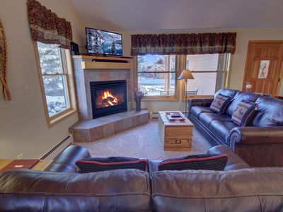 Photo for Amazing views to the Dercum Mountain from this 2 bedroom townhome