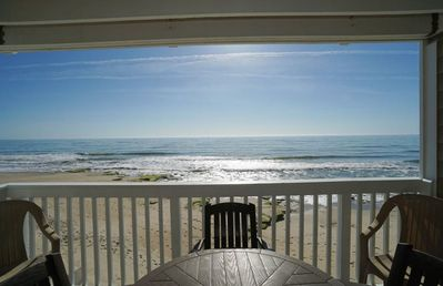Photo for 3 bedrooms, ocean front with heated pool