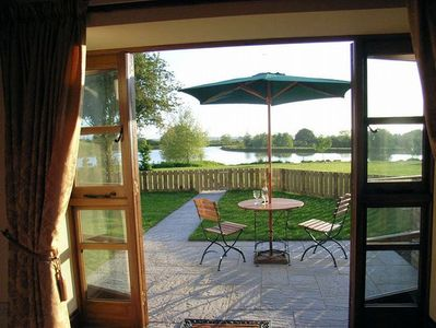 View from lounge towards the lakes