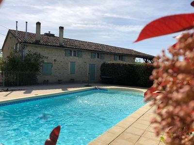 Photo for Charming farmhouse with private pool in secluded location. New listing.