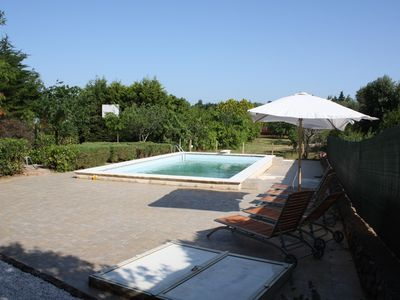 Photo for Beautiful, rustic villa with private pool and basketball court in Puglia, Italy