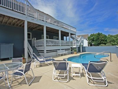 Photo for Beachin Good Time: Stay in the famous Currituck Club. Private pool and hot tub.