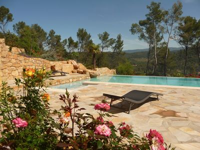 Photo for OLIVADE LARGE RECENT VILLA WITH PANORAMIC VIEW