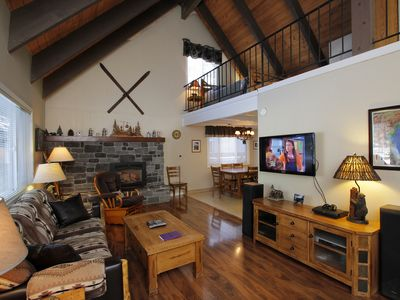 Photo for LOVELY TAHOE CHALET- HOT TUB, 2 MILES TO SKI, WALK TO LAKE, PETS, BIKES, WIFI