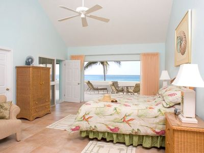 Photo for The Retreat at Rum Point Unit #28.  Stunning 3BR Oceanfront Penthouse Condo