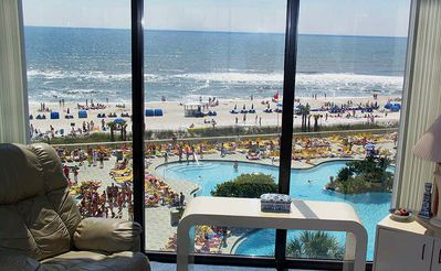 This is your view from the living room!! Are you ready for the beach?
